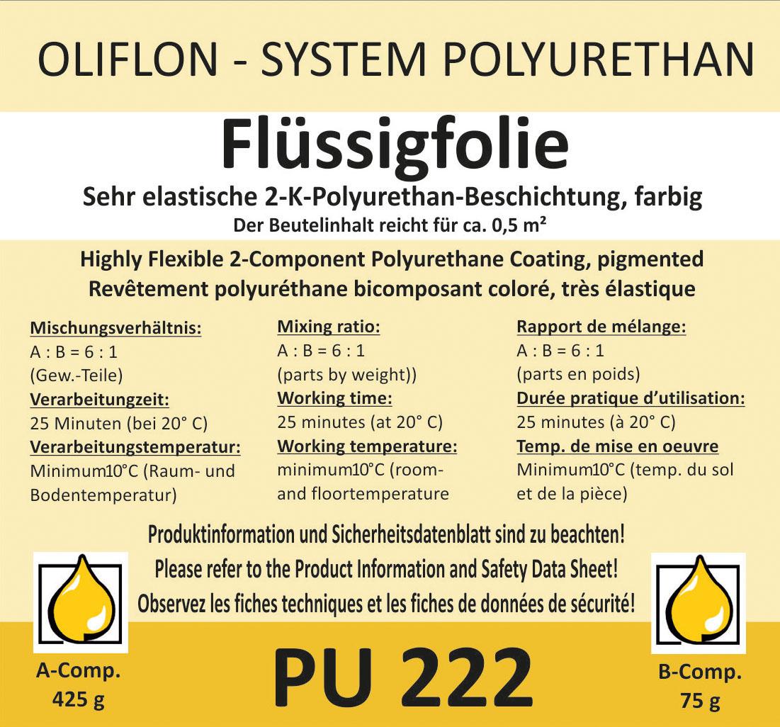 OLIFLON -  OLIPUR PU 220 - 2K Flüssigfolie
