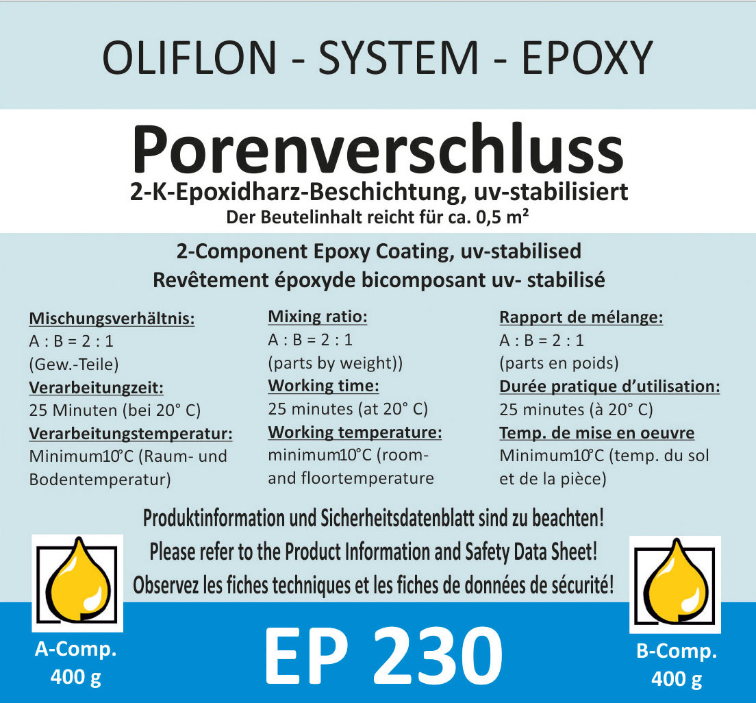 OLIFLON -  OLIPOX EP 230 - 2K Porenverschluss
