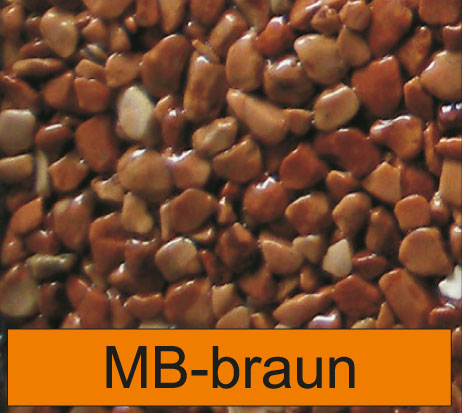 OLIFLON -  MB-Braun - Marmor-Steine - Braun