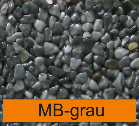 OLIFLON -  MB-Grau - Marmor-Steine - Grau