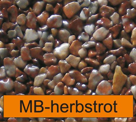 OLIFLON -  MB-Herbstrot - Marmor-Steine - Herbstrot