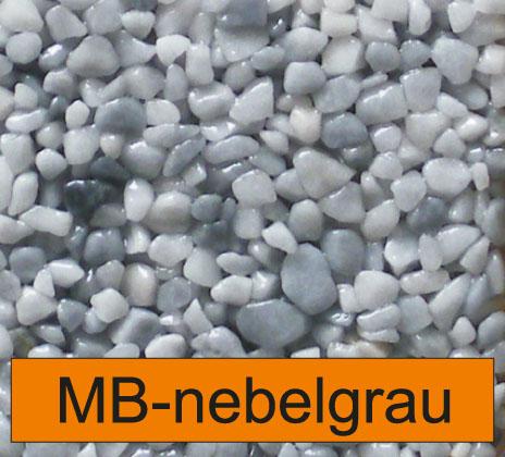 OLIFLON -  MB-Nebelgrau - Marmor-Steine - Nebelgrau