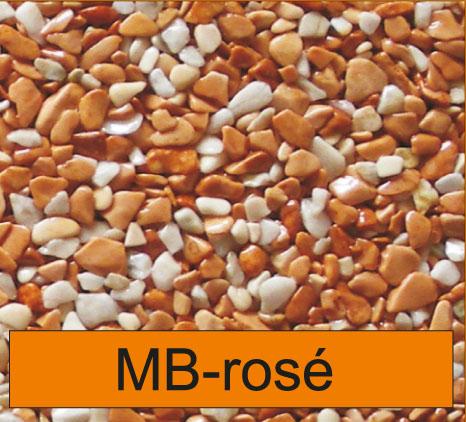 OLIFLON -  MB-Rose - Marmor-Steine - Rose