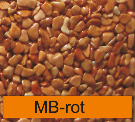 OLIFLON -  MB-Rot - Marmor-Steine - Rot